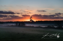 2017 - Autumn Sunrise at Windmist Farm - Small