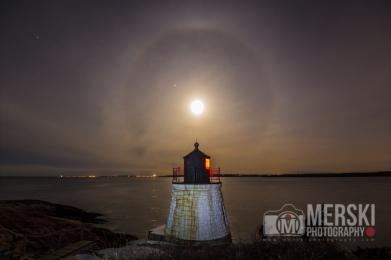 2016 - Full Moon Over Castle Light (1 of 1)