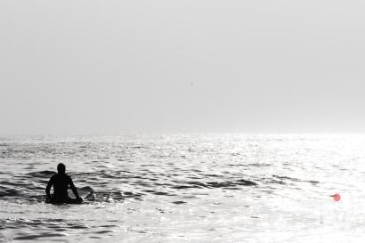 Waiting - Narragansett Beach, RI