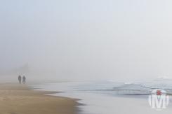 A Foggy Stroll - Narragansett Beach, RI