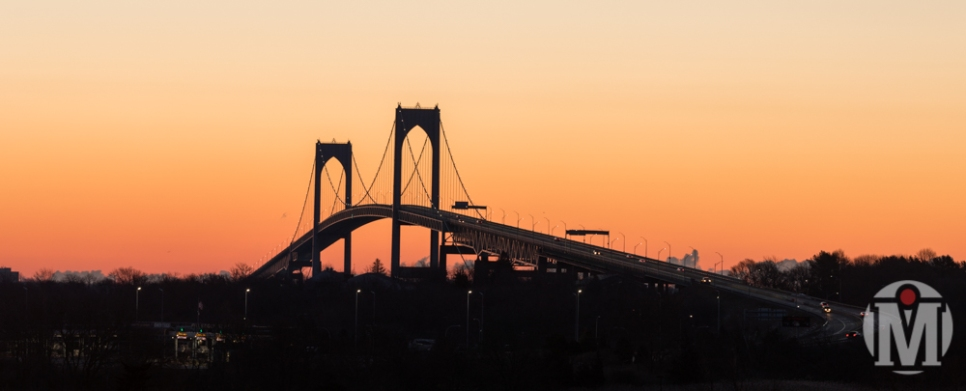 Newport Bridge at Sunrise (1) - Newport, RI