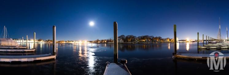 Winter Wickford Harbor - Wickford, RI