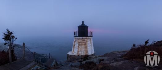 Castle Hill - Foggy Morning - Newport, RI