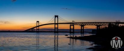 Newport Bridge at Sunrise (2) - Newport, RI