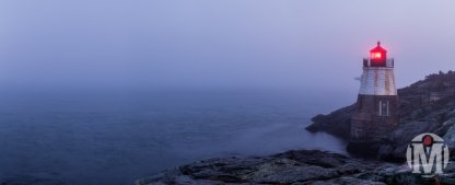 Castle Light - Calling out to Sea - Newport, RI