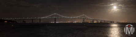 Newport Bridge at Night - Newport, RI