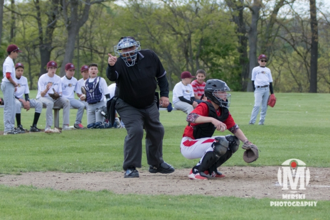 2017 - May - Woonsocket Middle School Baseball (91 of 102)