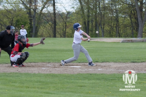 2017 - May - Woonsocket Middle School Baseball (92 of 102)