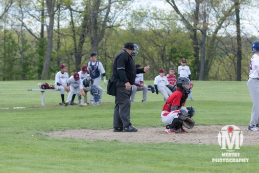 2017 - May - Woonsocket Middle School Baseball (93 of 102)