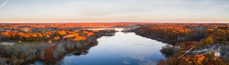 Westward View at Belleville Pond 1