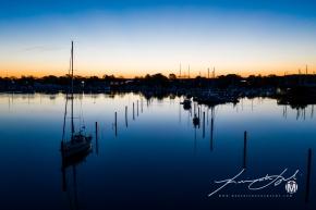 Wickford Harbor at 45'