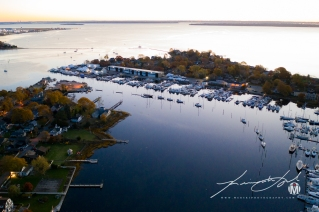 Wickford Harbor at 397'