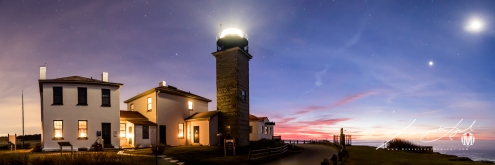 Beavertail Panorama at Twilight