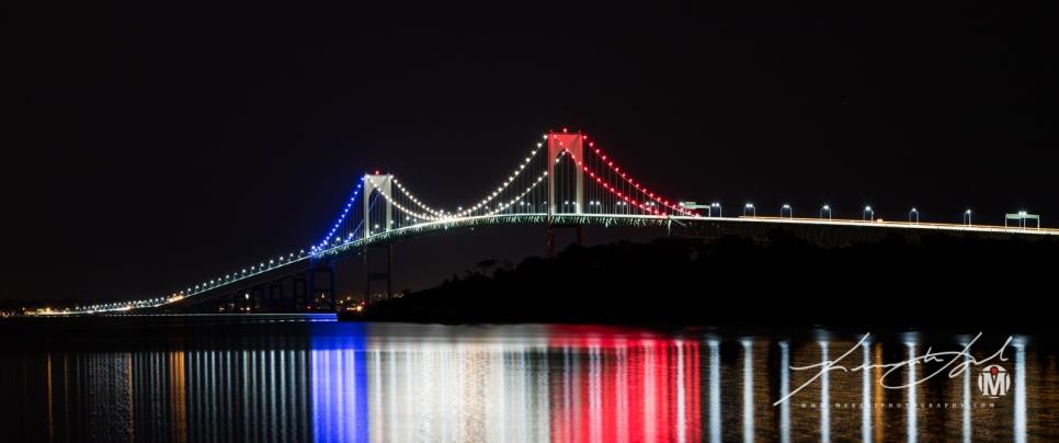 RWB - Newport Bridge from Potter's Cove