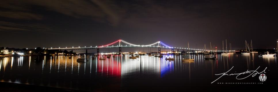 RWB - Newport Bridge - Bryer Point