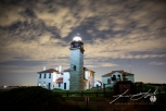 Beavertail Light with Aerial Light