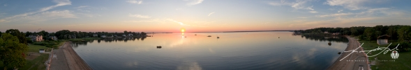 North Kingstown Town Beach - July - Panoramic