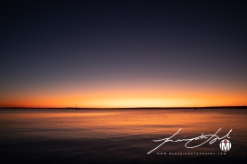 2019 - September - Crescent Moon over Town Beach (1 of 3)