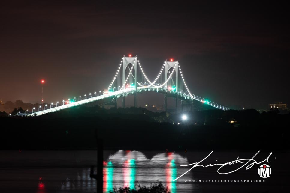2019 - September - Newport Bridge - Twilight (1 of 7)