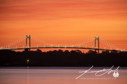 2019 - September - Newport Bridge - Twilight (2 of 7)