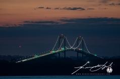 2019 - September - Newport Bridge - Twilight (3 of 7)