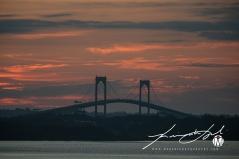 2019 - September - Newport Bridge - Twilight (5 of 7)