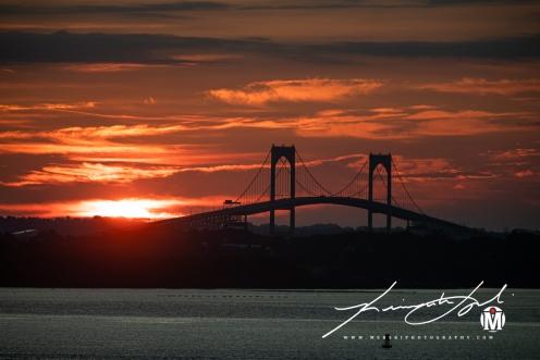 2019 - September - Newport Bridge - Twilight (6 of 7)