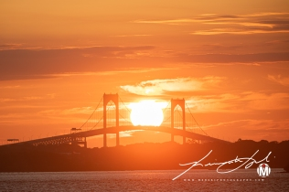 2019 - September - Newport Bridge - Twilight (7 of 7)