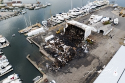 2019 - September - Wickford Harbor Shipyard Fire (4 of 8)