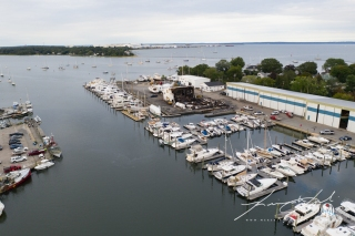 2019 - September - Wickford Harbor Shipyard Fire (7 of 8)