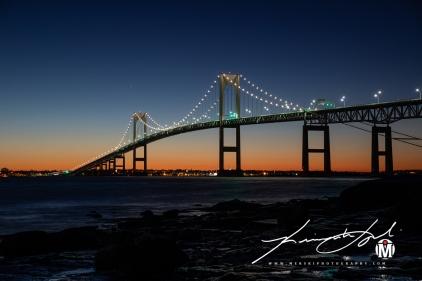 Newport Bridge - Zoomed-in Shot #2
